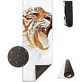 Tappetini per Yoga Tiger Art Esercizi Antiscivolo per Esercizi ad Alta densità 180 cm