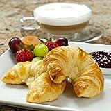 100% Butter French Croissants - 3.5 oz, Frozen, Unbaked - 20 croissants