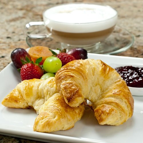 100% Butter French Croissants - 3.5 Ounce, Frozen, Unbaked - 10 Count