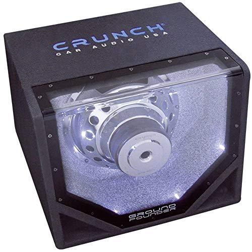 Crunch GPX8 - Subwoofer-System in Box für Fahrzeuge mit 400 W, schwarz