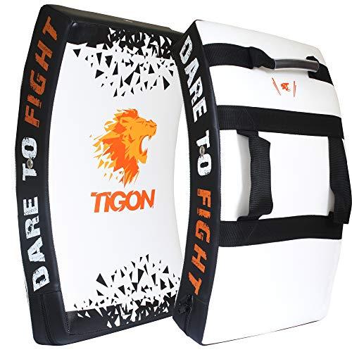 Tigon - Bouclier de frappe en gel - Pour boxe, arts martiaux