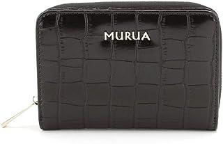 MURUA (ムルーア) ラウンド折り財布 クロコ MR-W752