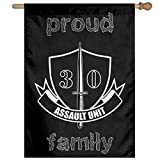 shuangshao liu Flagge Fahne Proud WW2 British Special Forces - 30 Assault Unit Family Flag 27'x37' Garden Flag