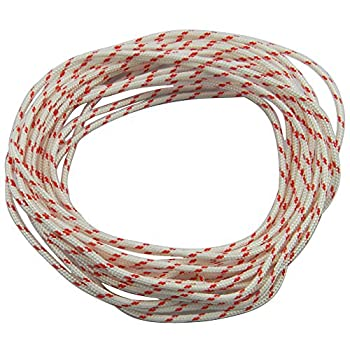 Hipa Recoil Starter Rope 10-Meter 3.0mm Pull Cord Replacement for Chainsaw Lawn Mower Chainsaw Trimmer Brush Cutter