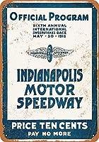 Indianapolis Motor Speedway ティンサイン ポスター ン サイン プレート ブリキ看板 ホーム バーために