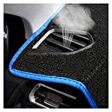 POLKMN RHD Car Dashboard Cover Dash Mat Fit para Toyota Landcruiser Prado J150 Series GX GXL 2013-2017 2018 Auto Dashmat Alfombra (Color Name : Blue)