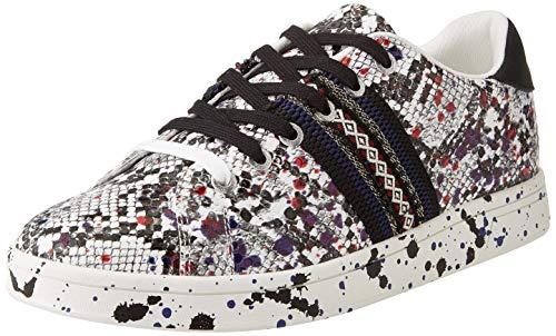 Desigual Shoes_Cosmic_Snake Splat, Baskets pour Femme,...