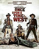 カウボーイ映画西部昔々西部のポスターと版画壁アートキャンバス絵画家の装飾アートワーク-50x70cmフレームなし