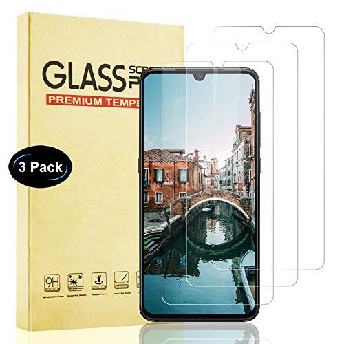 Lixuve Protector de Pantalla Xiaomi Mi 9 Se, 9H Dureza Vidrio Templado Película Protectora, [Cobertura Toda] [Sin Burbujas] [Alta Definicion] [Anti-Huella] 3 Unidades