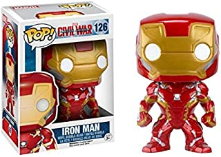 FUNKO POP Captain America: The Winter Soldier Civil War Iron Man Hand Office Decoration Model toys