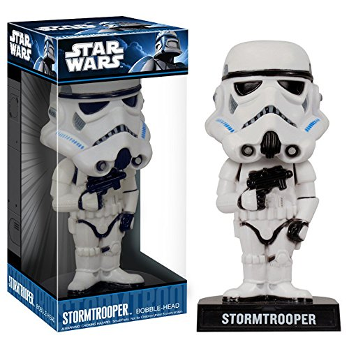CHROMA 48027 White Stormtrooper Dashboard Auto Ornament
