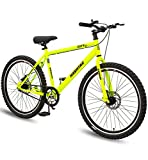 Geekay Hashtag 26 t Single Speed Steel Mountain Bicycle 26 Inch wheel | Non gear cycle for adults |...