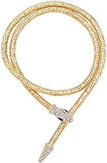 Flexible Bendable Magnet Snake Jewelry Necklace Choker Bracelet Scarf Bendy Chain Shap