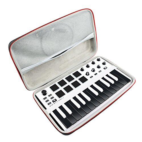 Viaggiare Conservazione il Trasporto Scatola Borsa per AKAI Professional MPK Mini MKII - Tastiera Controller MIDI USB by AONKE