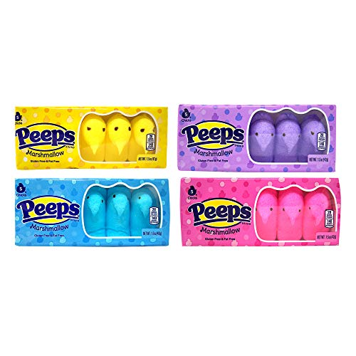 Easter Marshmallow Chicks Peeps Variety Pack 4ct. from