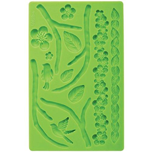 Wilton 0264297 Moule pour Fondant ET PASTILLAGE Nature, Autre, Vert