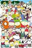 South Park - Cast - Filmposter Kino Movie Comic