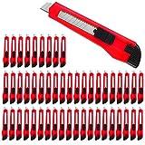 Deuba Taglierini 50 pz Cutter Lama 9mm cursore bloccabile
