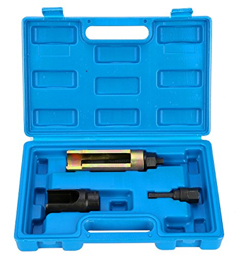 FreeTec Diesel Extractor de Inyector de Combustible Extractor Juego de Herramientas, 3 Piezas