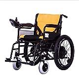 JLKDF Scooter eléctrico portátil Plegable eléctrico para Personas Mayores y discapacitadas, Puede Llevar un baño, automático Inteligente, Freno Inteligente, Seguro y Protegido