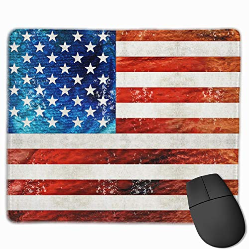 Personalized Mouse Pad Gaming Mouse Pad Best Mouse Pad Ergonomic Mouse Pad Red and White Vertical Bar Consciousness