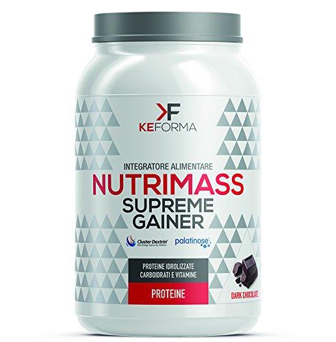 KeForma NutriMass Supreme Gainer 1500 g. gusto Dark Chocolate