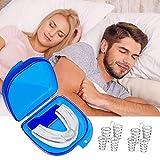 Dispositivos Anti Ronquidos Soluciones,4 Dilatadores nasales antironquidos-1 Boquilla antironquidos, Antirronquidos Nariz Solucion Ayuda para Dormir Apnea,Anti-ronquidos Solución para dejar de roncar