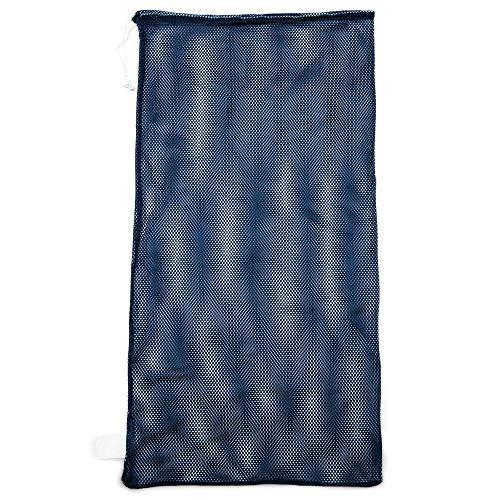Champion Sports Mesh Sports Equipment Bag, Navy, 24x48 Inches -...