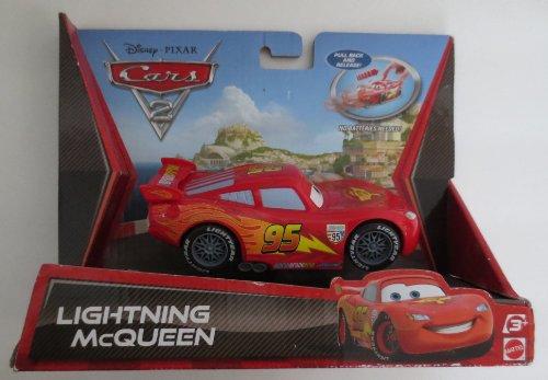 Cars - V3003 - Voiture Miniature - Cars 2 Retrofriction - Flash Mcqueen