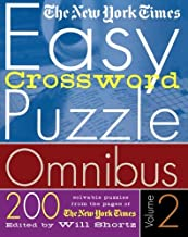 The New York Times Easy Crossword Puzzle Omnibus Volume 2: 200 Solvable Puzzles from the Pages of The New York Times PDF