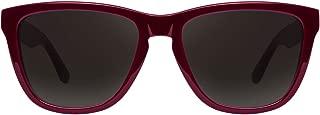 Hawkers Diamond Burgundy Dark One X, Gafas de Sol Unisex, Negro/Burdeos
