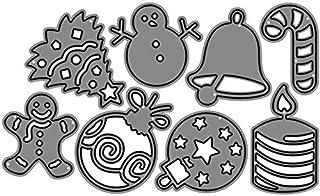 Haodou Troqueles Scrapbooking Navidad muñeco de nieve cuchillo de corte cuchillos moldeados mueren artesanías de metal