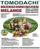 Meerschweinfutter pelletfrei, Nagerfutter, natürliche Nagerfuttermischung mit Möhrenflocken, Erbsenflocken, Erdnüssen, Sonnenblumenkernen, Kardi, Maisflocken und Kräutern – leckerer bunter Knabbermix, Alleinfutter für Meerschweinchen, Rundum-Sorglos Futtermischung Tomodachi Meerschweinchen Melange 5kg Eimer - 8