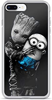 iPhone 7 Plus/8 Plus Pure Case Cover Baby Groot Hugs Minions