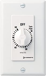 Intermatic SW60MWK 60-Minute Spring Wound Timer, White
