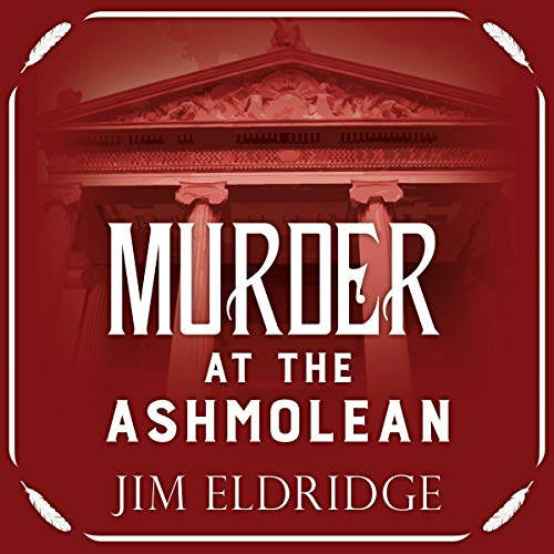 Murder at the Ashmolean cover art