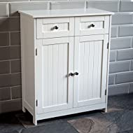 Product Colour: White Product Size: H 75 x W 60 x D 30 Cm Approx. Product Material: MDF Product Brand: Bath Vida Product Cleaning Instructions: Wipe With A Dry Cloth