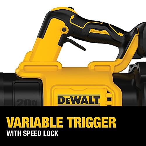 DEWALT 20V MAX XR Leaf Blower, 125-MPH, 450-CFM (DCBL722P1)