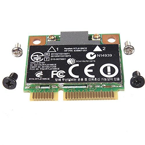 ランフィー ワイヤレスWiFiカード640926-001 639967-001 RTL8188CE(HP用)