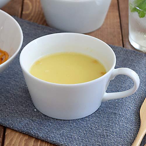 あづま商店テーブルウェアイーストクレール『ホワイトスープカップ(di-T1-3009-0)』