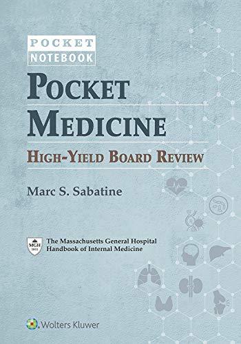 Pocket Medicine High-Yield Board Review (Pocket Notebook)