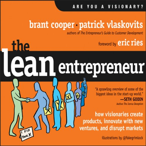 The Lean Entrepreneur audiobook cover art