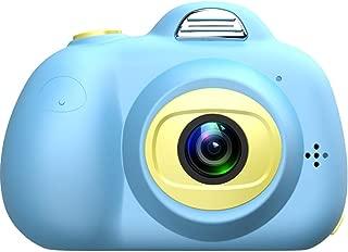 HelloDigi Kids Camera,Waterproof Children Camera Kids Digital Camera Cute Mini Children Toys Camcorder 8MP HD Kids Video Camera with 32GB TF Card,Best 3-12 Year Old Kids(Blue(with TF Card)