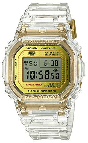 Casio G-Shock DW-5035E-7JR Glacier Gold 35th Anniversary Clear Skeleton resistente agli urti (Giappone prodotti genuini domestici)