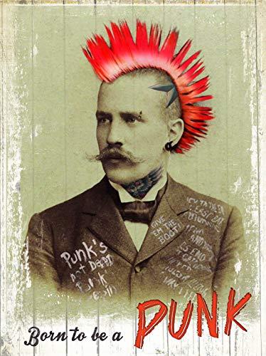 rutabaga-cie - Cuadro de madera, diseño de Born to be a Punk