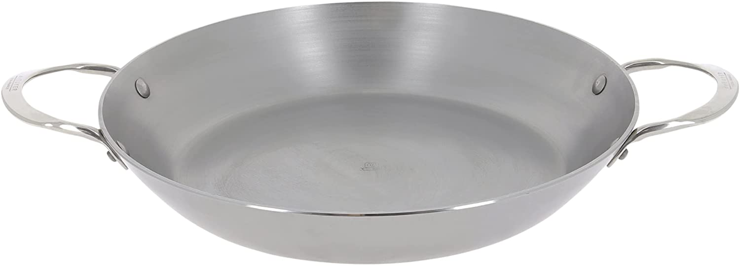 de Buyer New product - Mineral B Paella Handles Pan Nonstick with Elegant Two
