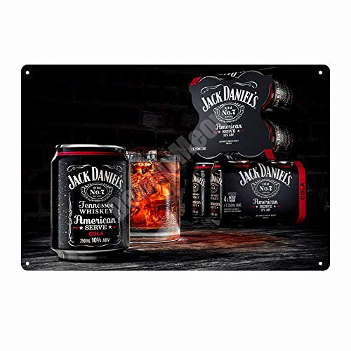 ZYZRYP Vintage Metal tin Sign bar Pub Home Decoration Beer Advertising Board Painting Poster Wall Art Sticker 20x30cm C