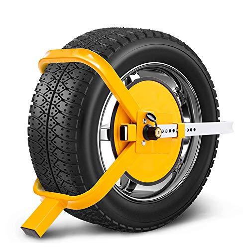 "ATEM POWER Wheel Defender Lock Clamp 13"" 14"" 15"" Car Caravan Trailer 195mm-235mm Heavy Duty 1 Year Warranty"