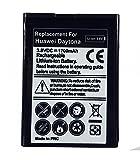 Bateria de Recambio Neutral para Huawei Orange Daytona Modelo hb4w1 1700 mah