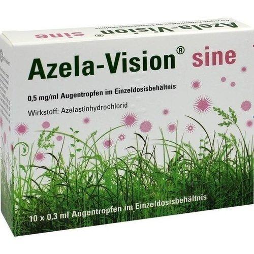 Azela-Vision sine, 10x0,3 ml Einzeldosis-Ophtiolen